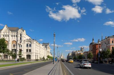 Москва, Лубянский проезд Москва Лубянский проезд