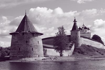 Псковский кремль Псков крепость осень