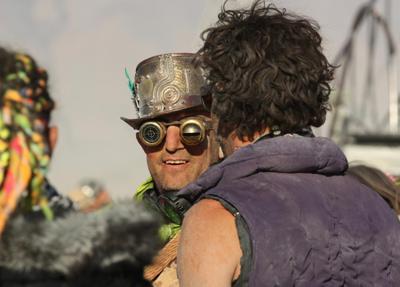 Burning Man 2012. Просто люди Блэк Рок Сити Невада Burning Man 2012 BM BM2012