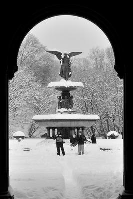 Нью Йорк.Центральный парк.Angel of the waters. Angel of the waters