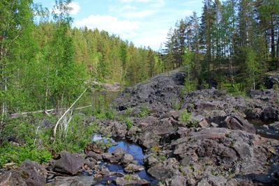 Жизнь на камнях карелия поор-порог вулкан