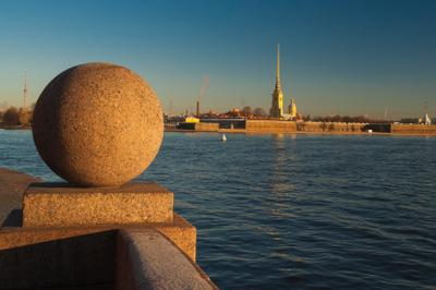 На берегу Невы 3 Санкт-Петербург
