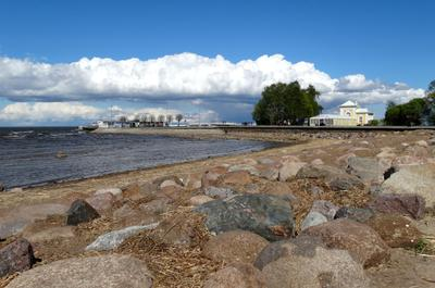Финский залив. Петергоф.