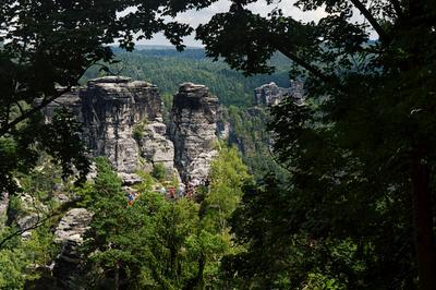 Удивительная Саксонская Швейцария Германия Саксония природный национальный парк Саксонская Швейцария