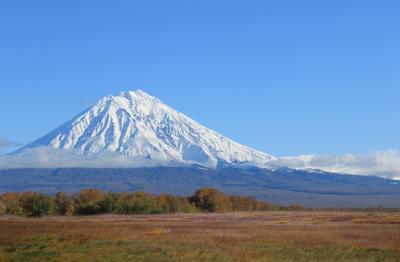 Исполин Вулкан горы тундра природа