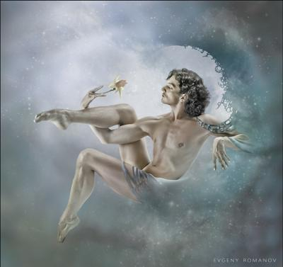 Нарцисс комп. искусство, танцовщик, нарцисс