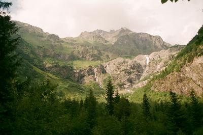 По дороге на Ушбу Сванетия Кавказ Грузия