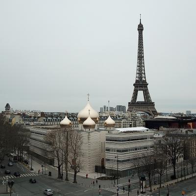 Свято-Троицкий собор Франция France Париж Paris