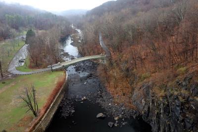 Вид с New Croton dam