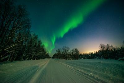 *** Кольскии север Заполярье северное сияние aurora borealis зима