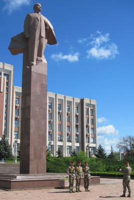 А где же Ленин?