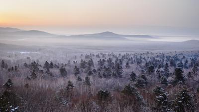 Туманные горы малого Хехцира