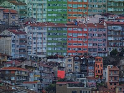 Хрущевки. Стамбул.