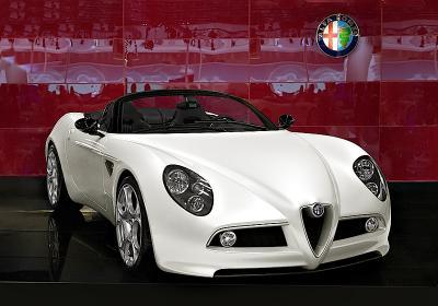 Автосалон 2008 - Alfa Romeo Автосалон 2008 Alfa Romeo концепт