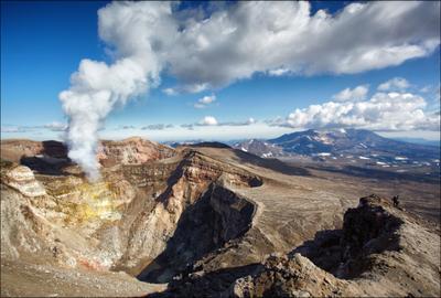 Прогулка по вулкану. Камчатка вулкан кратер Горелый