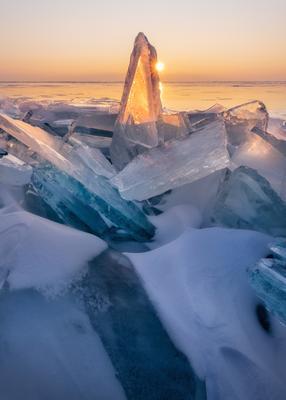 Байкальское утро Россия Сибирь Байкал пейзаж пейзажироссии природа путешествия лед закат зима мороз Russia Siberia Baikal landscape island nature travel lake ice winter frozen