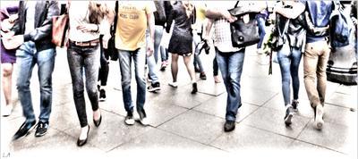 *Тротуар* фотография путешествие Санкт-Петербург Невский проспект жанр лето пешеходы Фото.Сайт Светлана Мамакина Lihgra Adventure