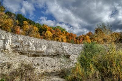 Пришла и рисует - 1. осень пейзаж
