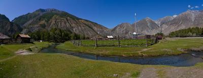 Аргут горы алтай село река аргут