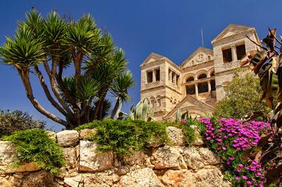 Гора Фавор (Табор) Церковь Преображения
