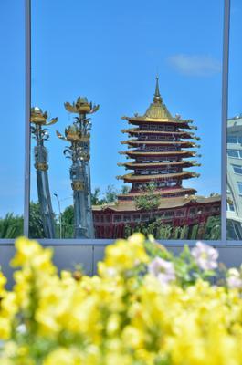 Пагода Семи Дней Пагода Будда Элиста Калмыкия