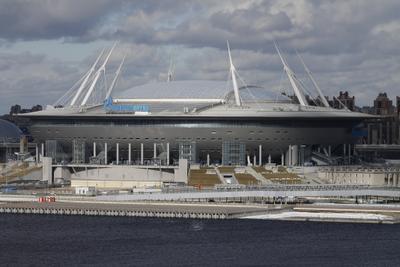 """стадион """"Газпром-Арена"""" (Санкт-Петербург) Санкт-Петербург"""