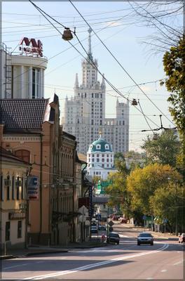 Московские зарисовки- Николоямская Николоямская улица московские зарисовки