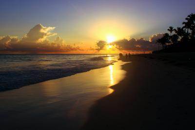 Рассвет Доминиканская республика рассвет океан