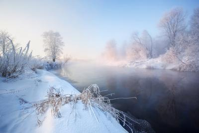 Морозное утро на Иже