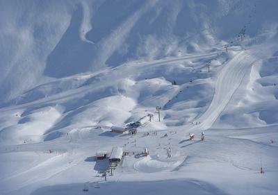 Снежное пространство 2 france, savoie, 3_vallees, Depart-télésiège-Chamrossa