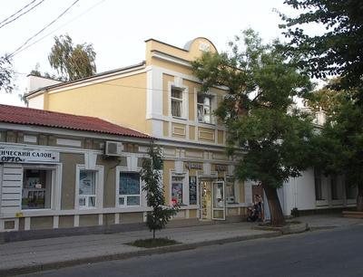 Архитектура... Крым Евпатория дом здание архитектура