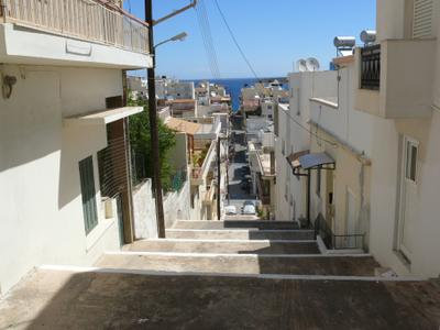 Улочки Агеос-Николаос. Крит. Греция.