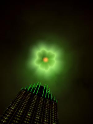 The Evil Eye of Zorg гало, комиксы, пятедесятые, отель, гало, небоскреб