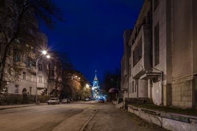 ночные улицы Екатеринбурга ночь город Екатеринбург