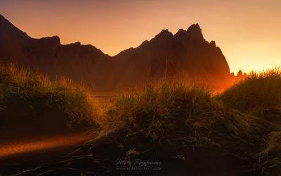 The Glow Stokksnes Iceland light glow worldphototravels.com