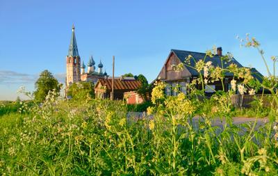 *** Россия село Дунилово Ивановская обл Лето Фото .Сайт