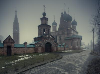 Начало весны Ярославль Коровники