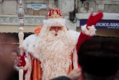 Главный Дед Мороз России парад дедов морозов дед мороз рыбинск шествие