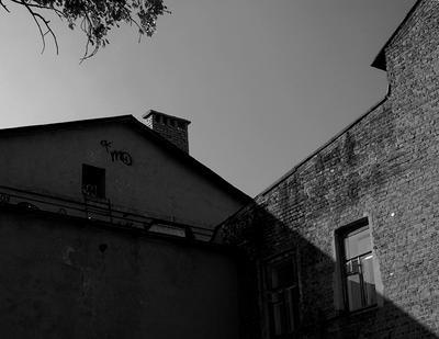 крыша  нижний новгород крыша тень лето старый город