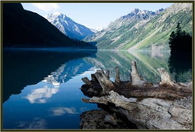 Озеро Кучерлинское. горный,алтай,озеро,кучерлинское
