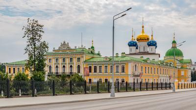 Путевой императорский дворец и собор Святого Спаса. Тверь
