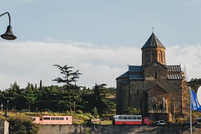 церковь Метехи фото фотография photo тбилиси грузия