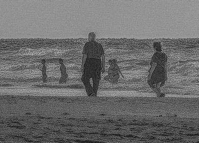 Уходящие... Море исход время волны