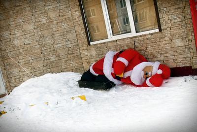1 января новый год дед мороз праздник город Сахалин Южно-Сахалинск марка marka