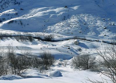 Снежное пространство france, les_menuires