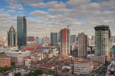 Шанхайские картинки #9 Урбанистический вид небоскреб Шанхай Китай Shanghai China vakomin