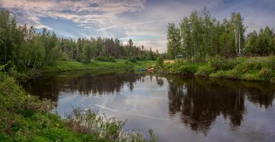 Классический пейзаж средней полосы России которосль ярославль пейзаж