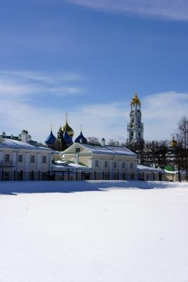*** Сергиев Посад Свято-Троицкая Сергиева Лавра Панорама Монастырь