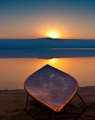 Рассвет над Мертвым морем
