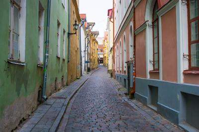 Старый город, Таллин улица старый город таллин эстония